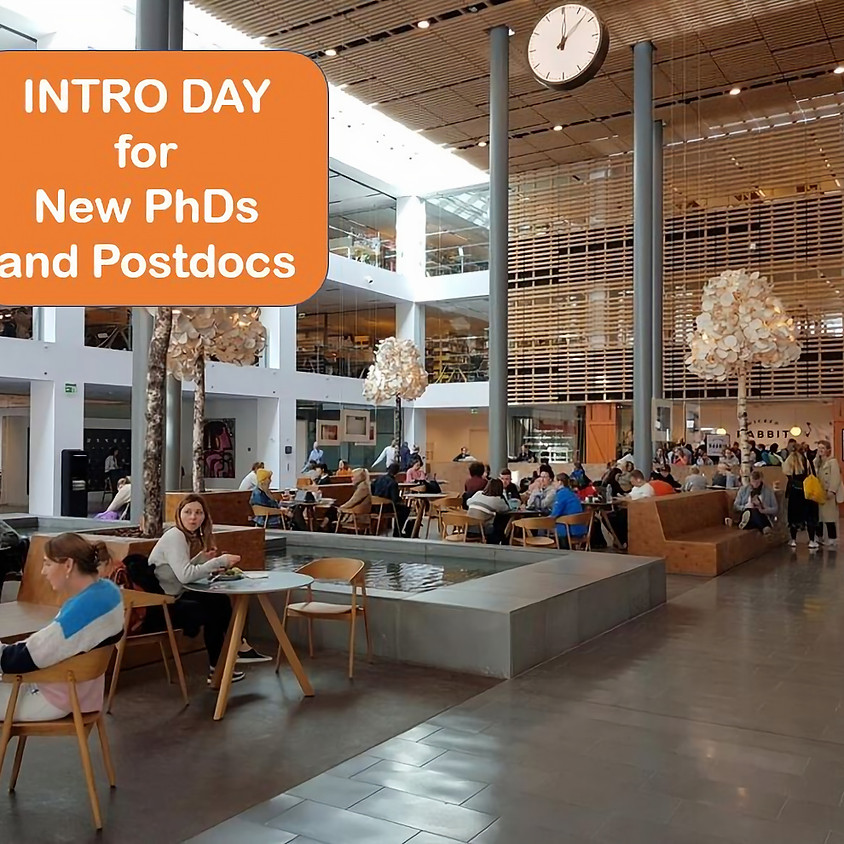 Intro day for new PhDs and Postdocs : 9th June 2021