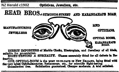 George Read NZ Herald 1902