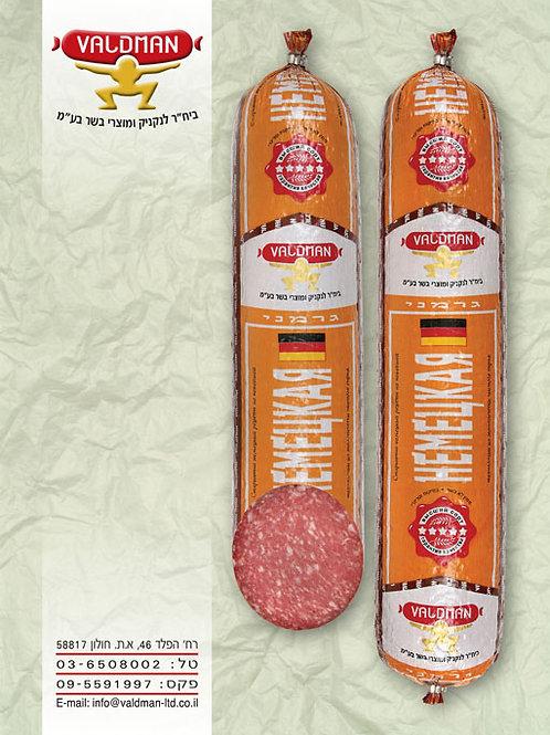 Салями немецкая - полукопченая  колбаса Вальдман