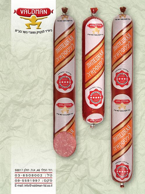 Липецкая- полукопченая  колбаса Вальдман