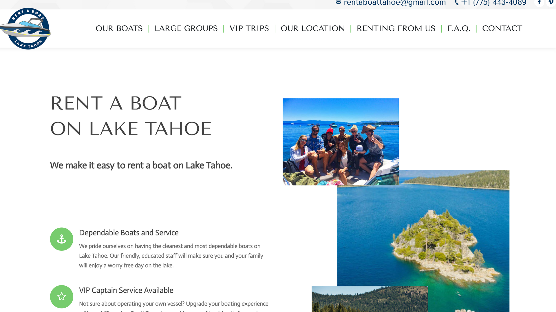 Rent A Boat Tahoe