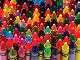 Pop art crayon box art receives no takers