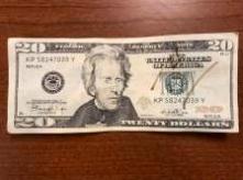 Police investigate counterfeit bill at pizzeria