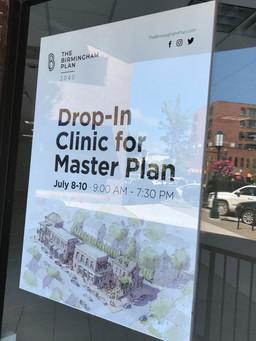 Birmingham hosts master plan drop-in clinic