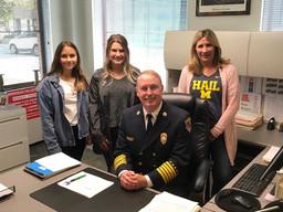 Birmingham Fire Department's new interim chief