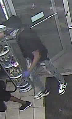 Armed robbery at Birmingham gas station