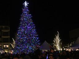 Enjoy traditional Winter Markt, tree lighting