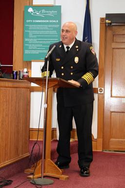 Wells named new Birmingham fire chief