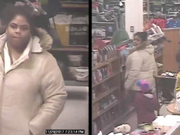 Woman caught stealing flat iron, other items