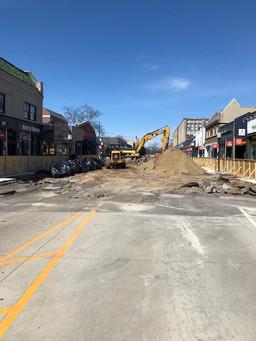 Maple Road reconstruction project has begun