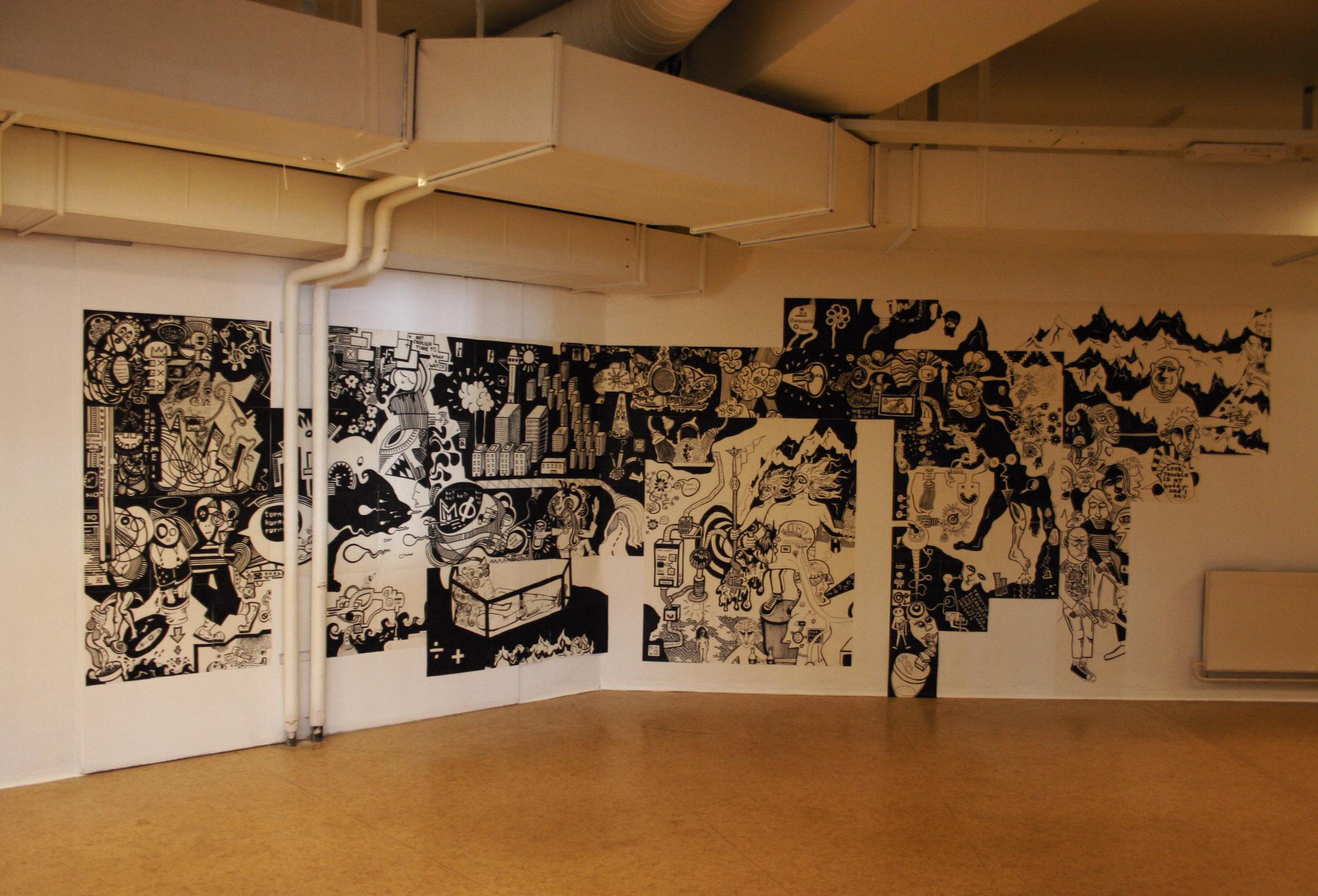 Paperwork, DTK Gallery, 2006