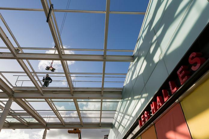 Réhabilitation halles - La Roche-sur-Yon
