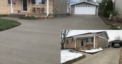 driveway replacement before and after_ed