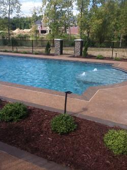 Garton Pool Potoroka Concrete Decor