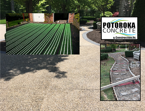 Potoroka Concrete Heated Driveway Option
