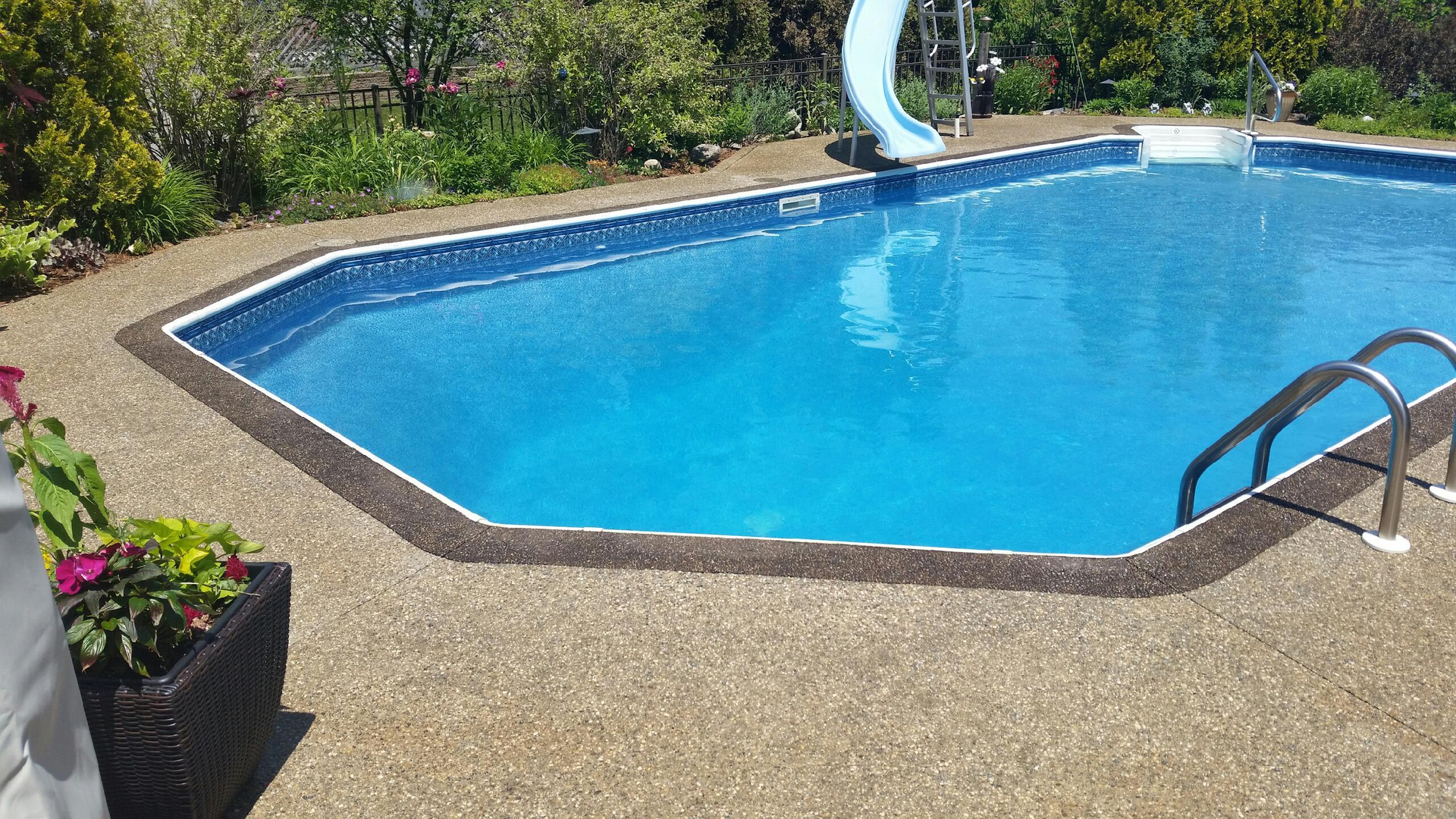 Liner Pool Concrete Renovation Potoroka