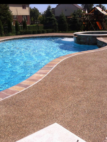 Pool deck photo