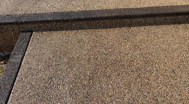 Potoroka Concrete Exposed aggregate pati