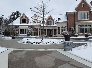 Snow Melt Radiant Heated Driveway Surfac