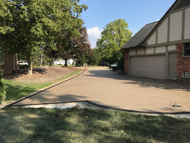 Exposed aggregate driveway Potoroka