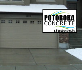 Heated Driveway Photo Potorok Concrete
