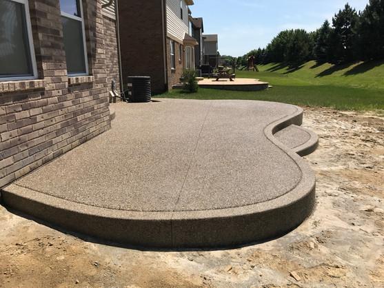 Potoroka Concrete 2017 Patio Warren MI e