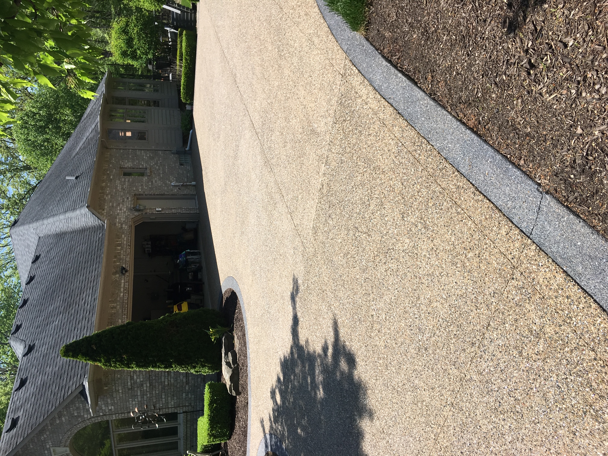 aggregate driveway photos