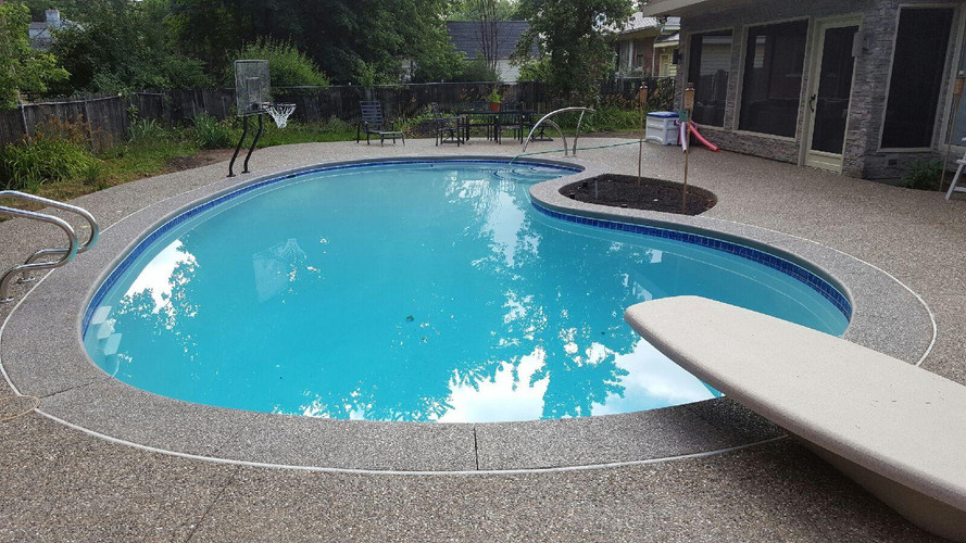 Potoroka Concrete 2015 Liner pool