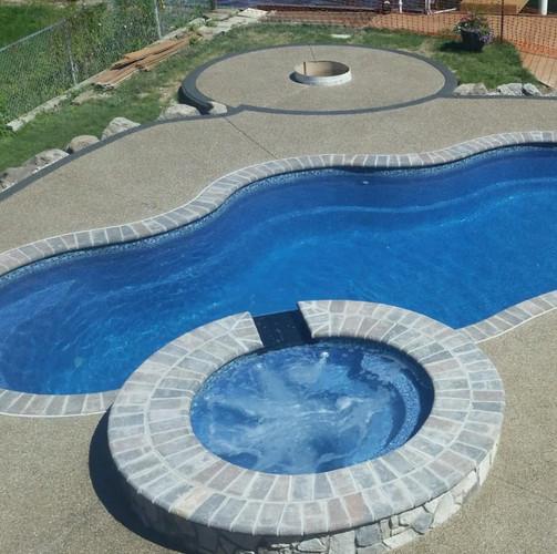 Potoroka Concrete Exposed Aggregate Pool