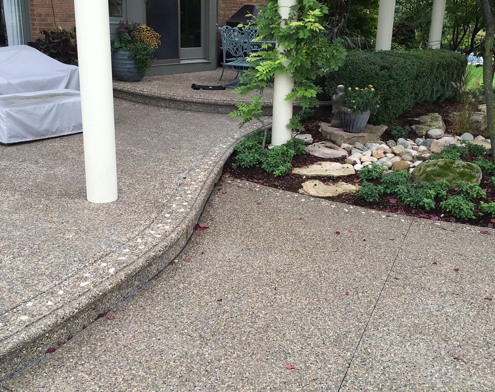 Potoroka Concrete Exposed aggregate conc