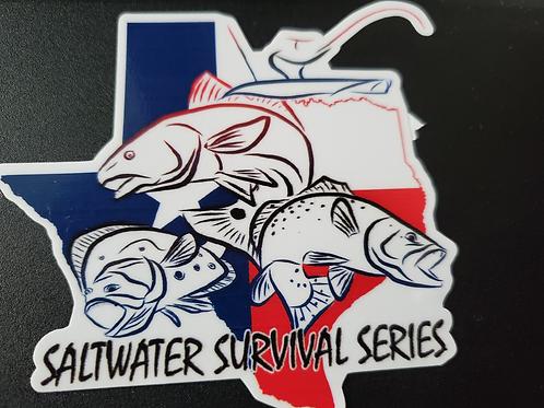 Saltwater Survival Series Decal