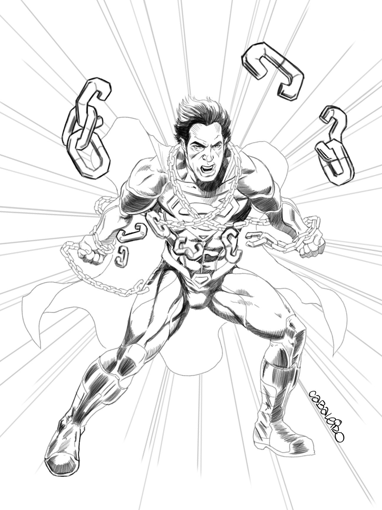 superman (#233 homage)