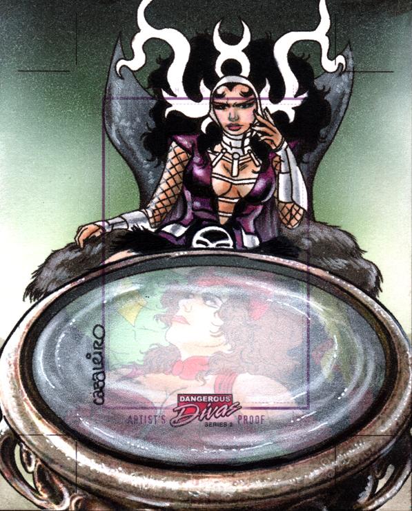 Marvel Dangerous Divas Series 2 AP