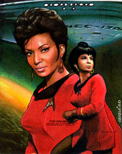 women of star trek: ahura