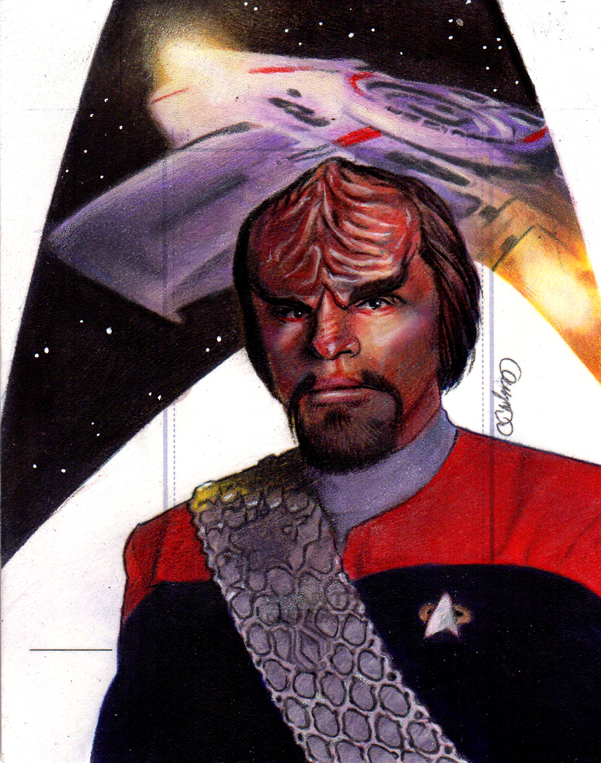 deep space nine: worf