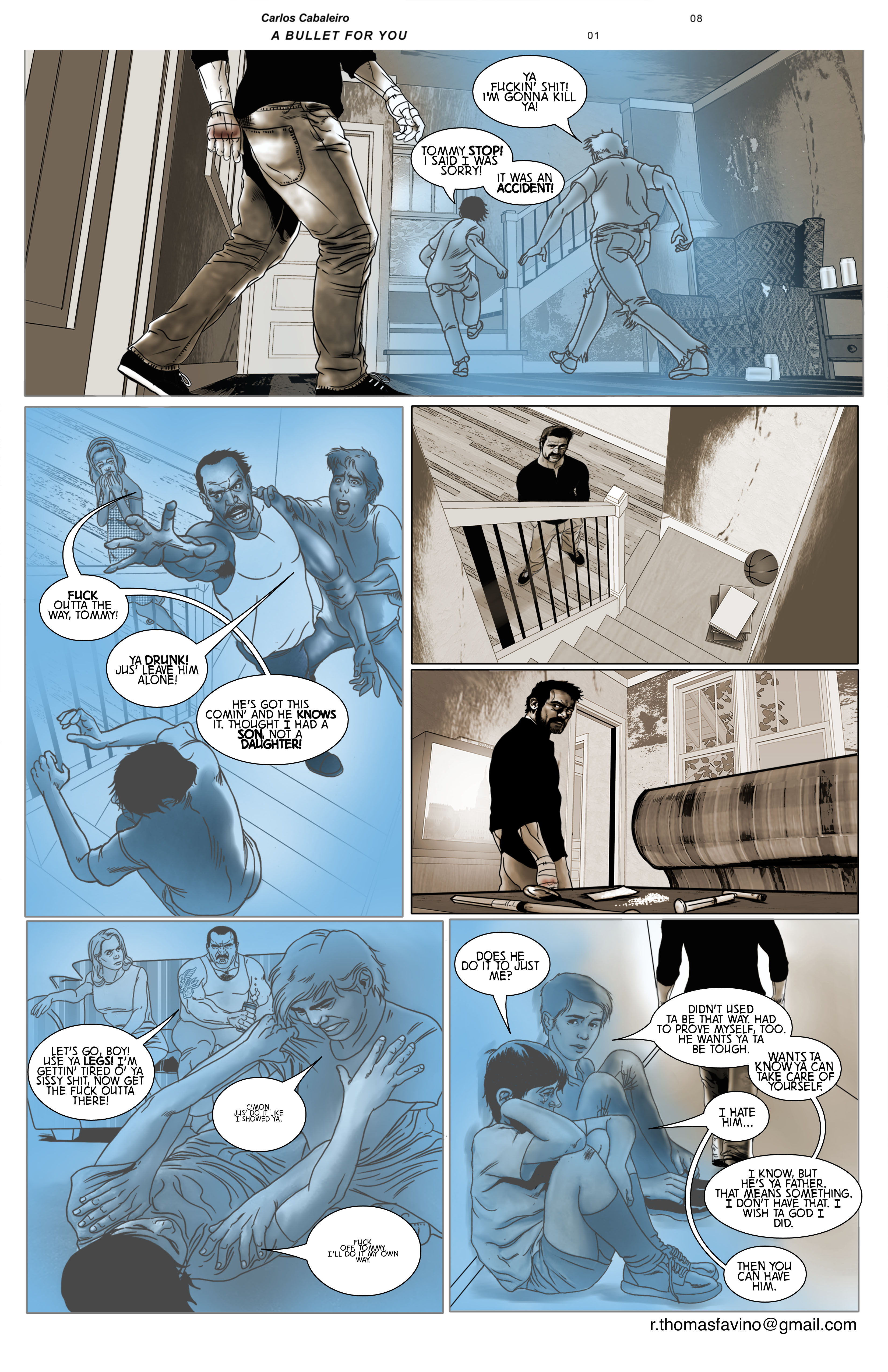 A Bullet for You #1 Page 8