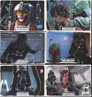 update: star wars sketch cards