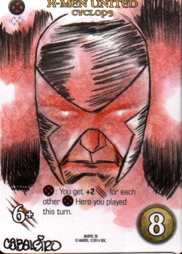 Marvel 3D Cyclops 2