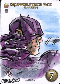 Marvel 3D Hawkeye 2