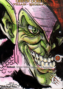 Marvel 3D Green Goblin