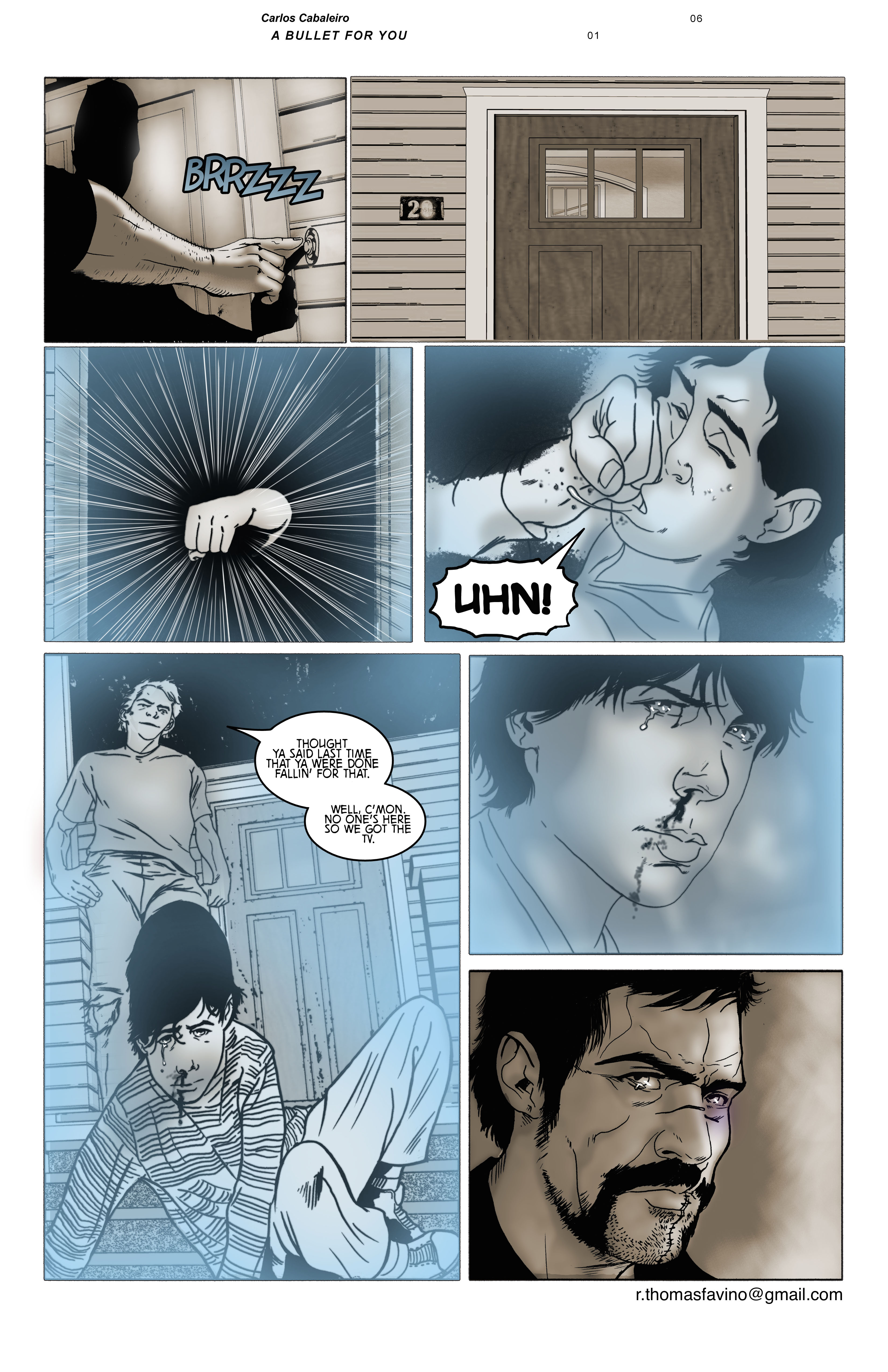 A Bullet for You #1 Page 6