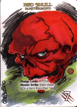 Marvel 3D Red Skull