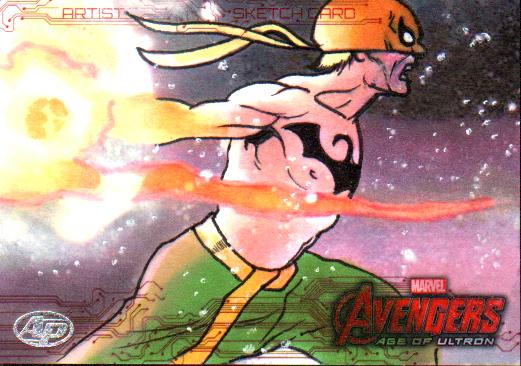 Avengers: Age of Ultron AP Iron Fist