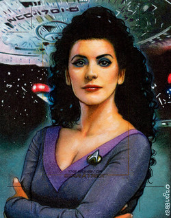 women of star trek: deanna troi