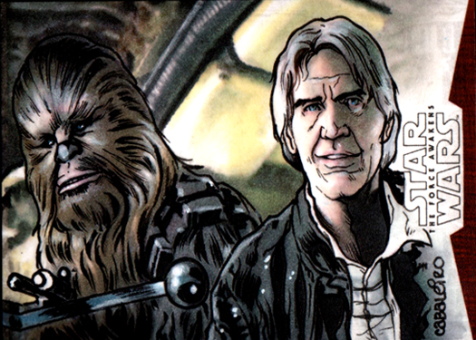 han and chewy tfa artist proof