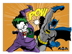 with bat-punch action