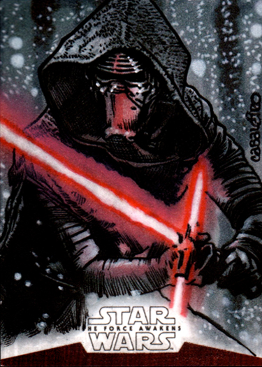 kylo ren tfa artist proof
