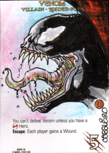 Marvel 3D Venom