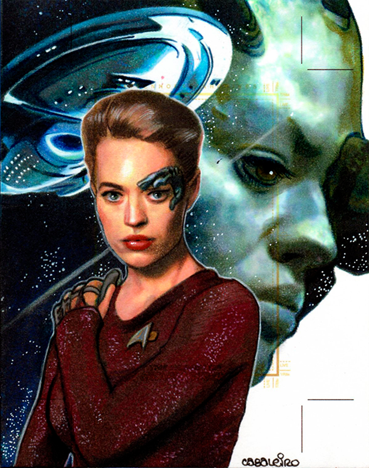 women of star trek: seven of nine