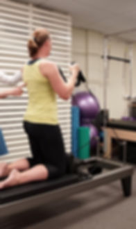 Clinical Pilates session at Extend Greenslopes
